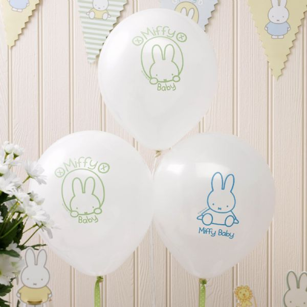 Baby Miffy Balloons (8)